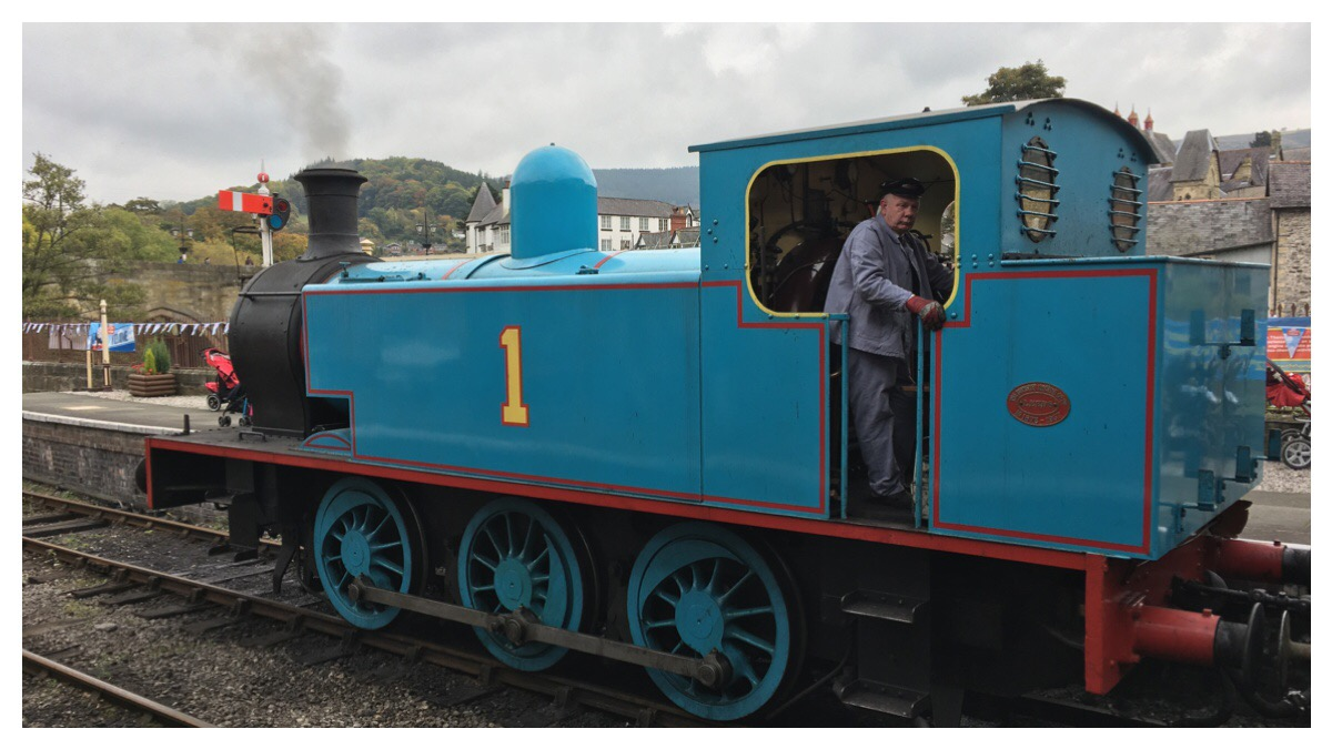 Thomas The Tank at Llangollen Railway
