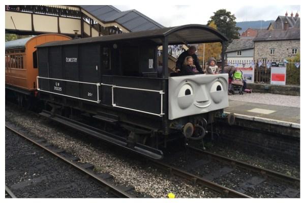 Toad at Llangollen Station