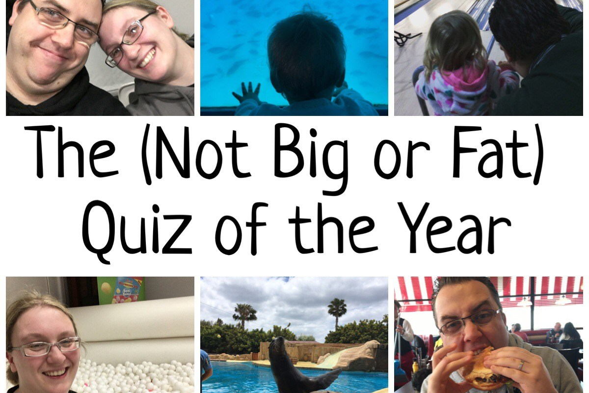 The Not Big or Fat Quiz of the Year