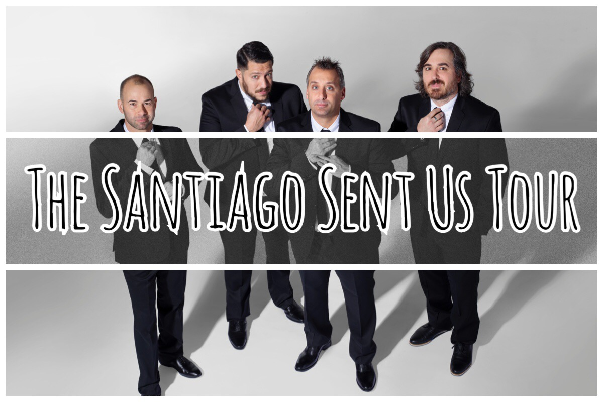 Impractical Jokers Santiago Sent Us Tour Becster