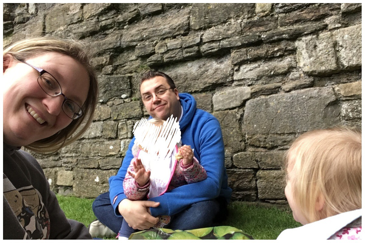 Picnic at Beaumaris Castle