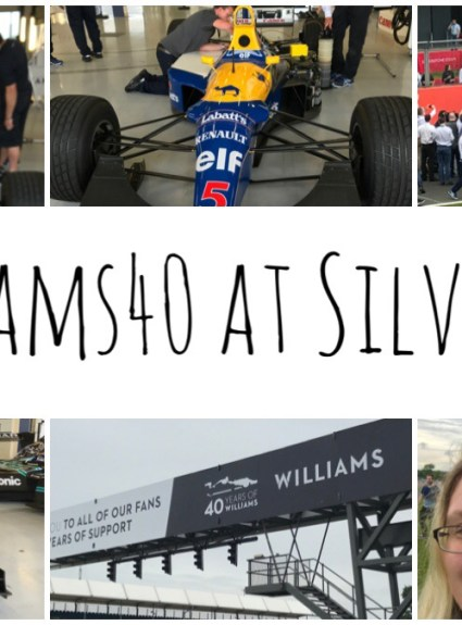 Williams40 at Silverstone