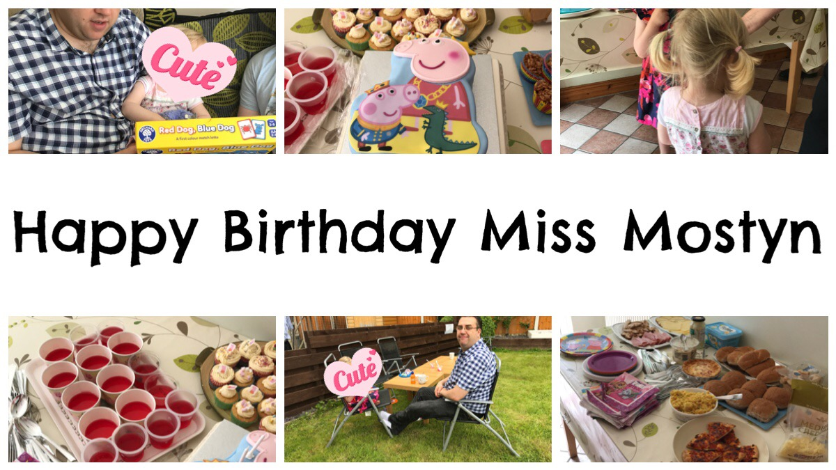 Happy Birthday Miss Mostyn