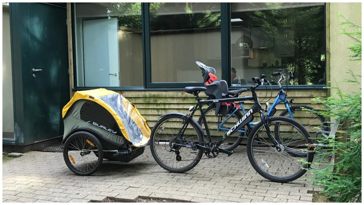 Bikes at Centre Parcs