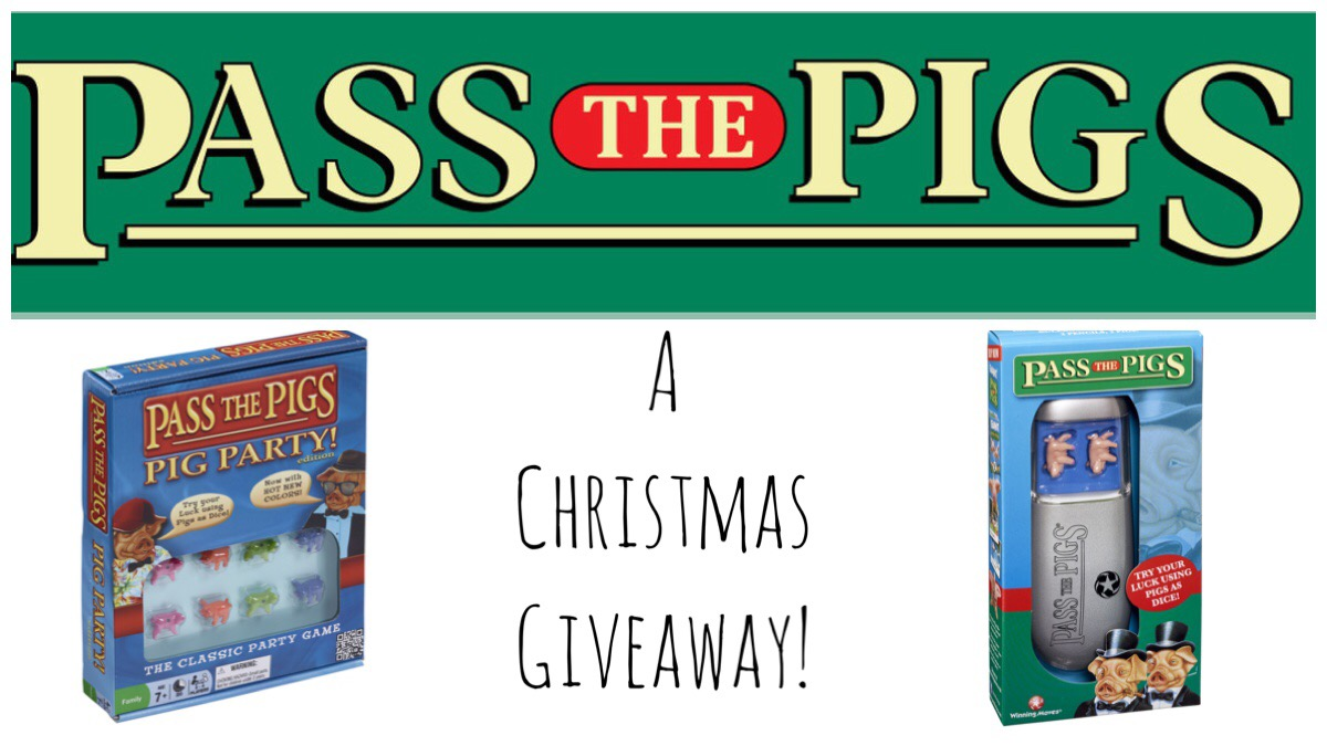 Pass the Pigs header image for the Christmas giveaway