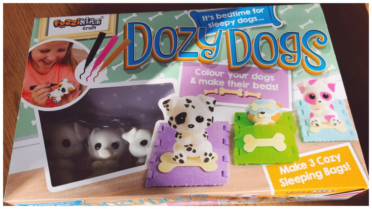Fuzzikins Crafts Dozy Dogs package