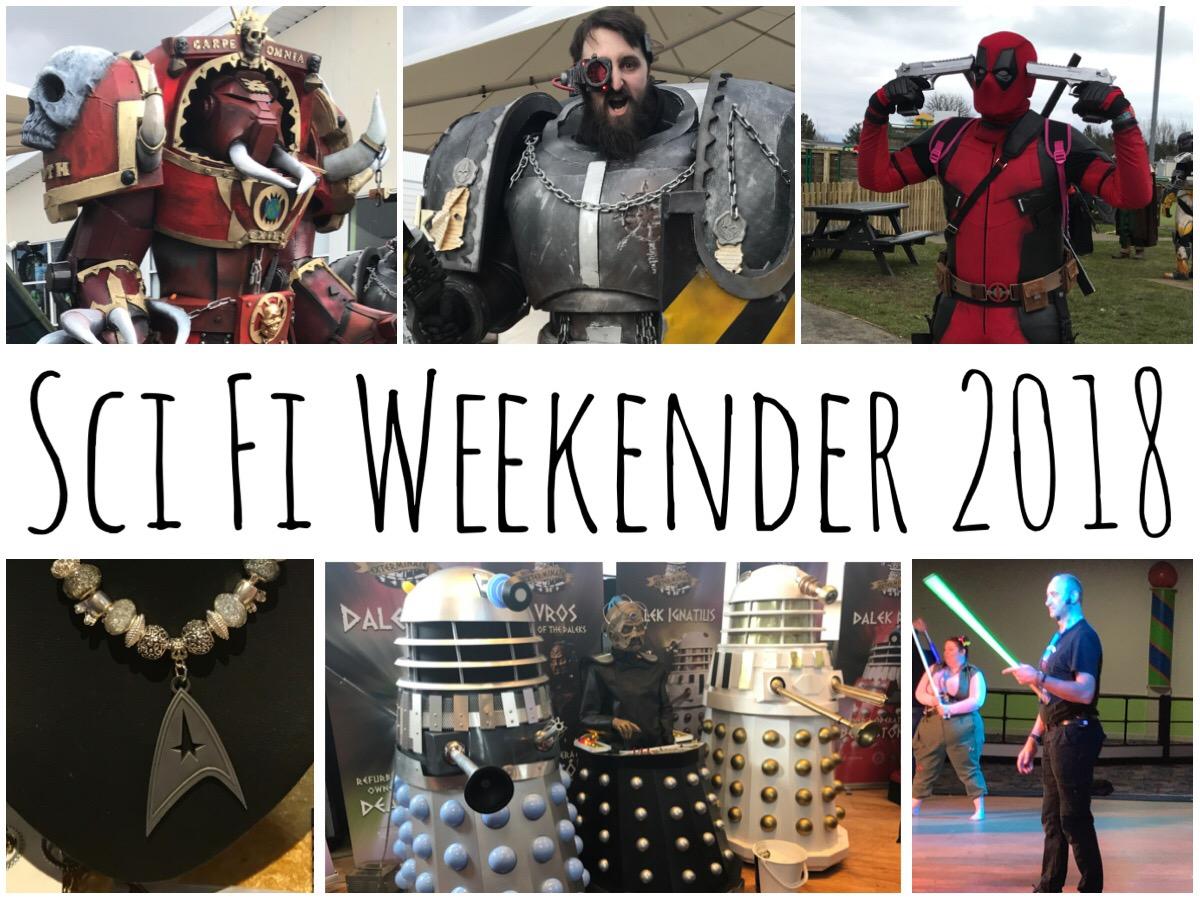 Sci Fi Weekender 2018 header image