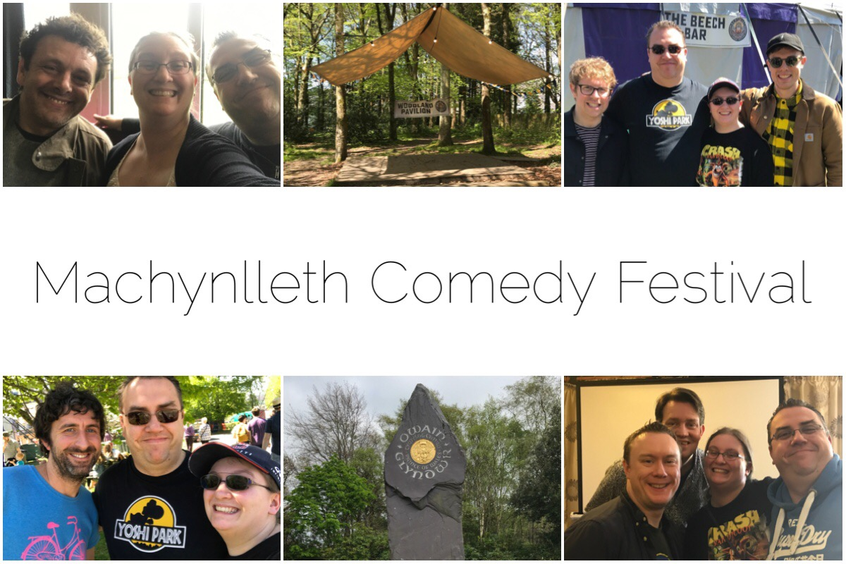 We had such a wonderful time at Machynlleth Comedy Festival - met Michael Sheen, Ed Gamble, Josh Widdicombe, Mark Watson and of course the wonderful Steve McNeil and Rob Sedgbeer.