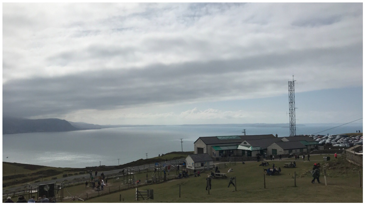 The views from the Great Orme