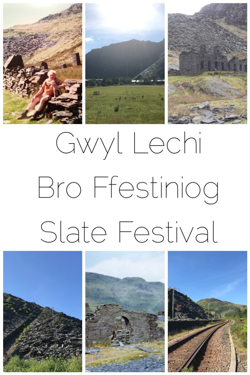 I'm super excited about the upcoming Slate Festival in Blaenau Ffestiniog