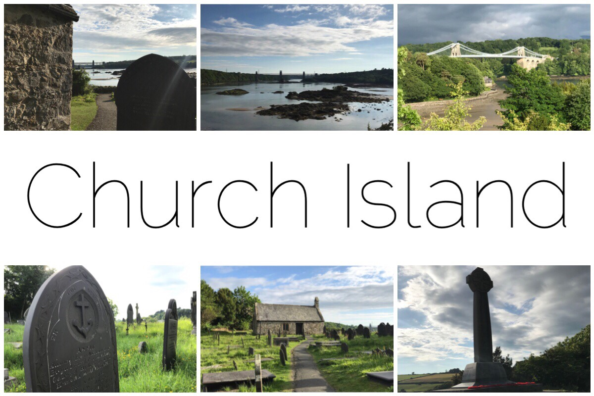 Six images of Church Island