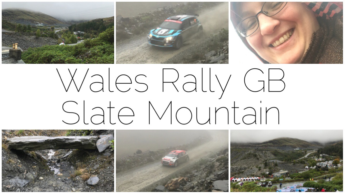 6 thumbnail images from the Slate Mountain stage of the Wales RAlly GB