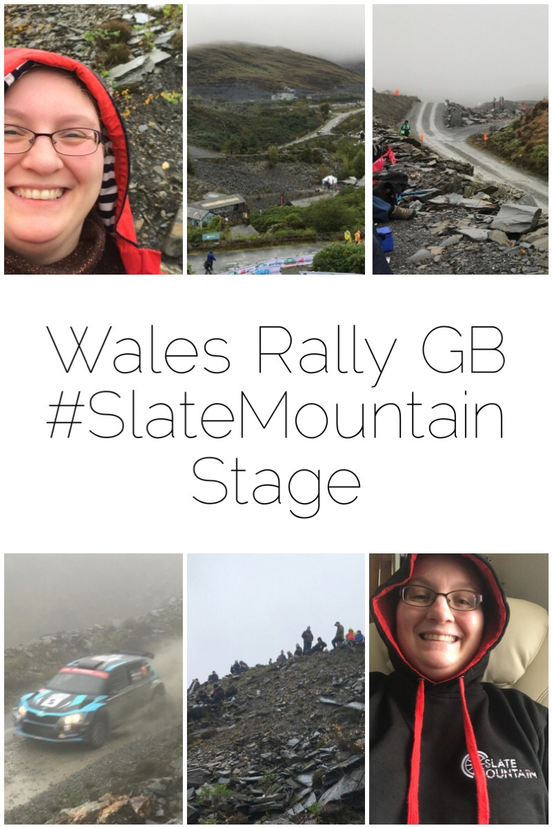 In 2018 I had attended the inagural #SlateMountain stage of the Wales Rally GB. Fast cars and Welsh slate - what more coudl a girl ask for? I wasin heaven!