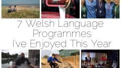 7 Welsh Programmes I've Enjoyed This Year