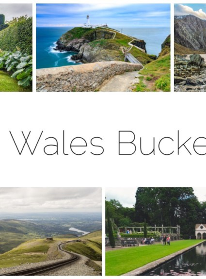 North Wales Bucket List