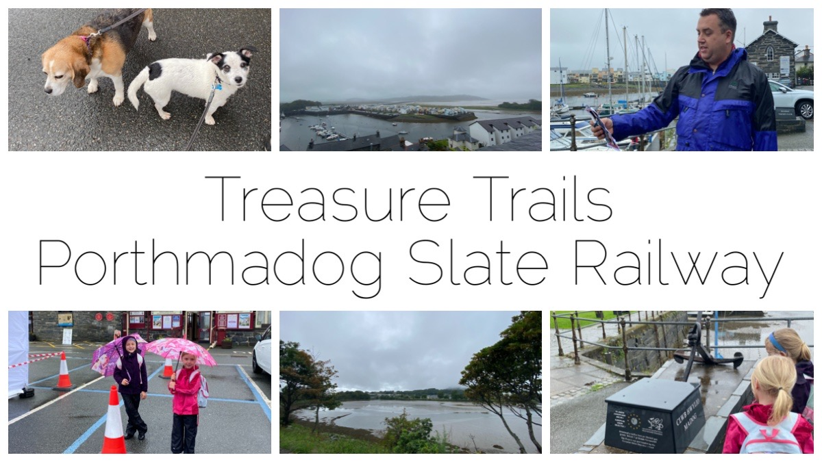 Treasure Trails Porthmadog Slate Railway