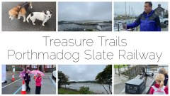 #Ad – Porthmadog Slate Railway Walk with Treasure Trails