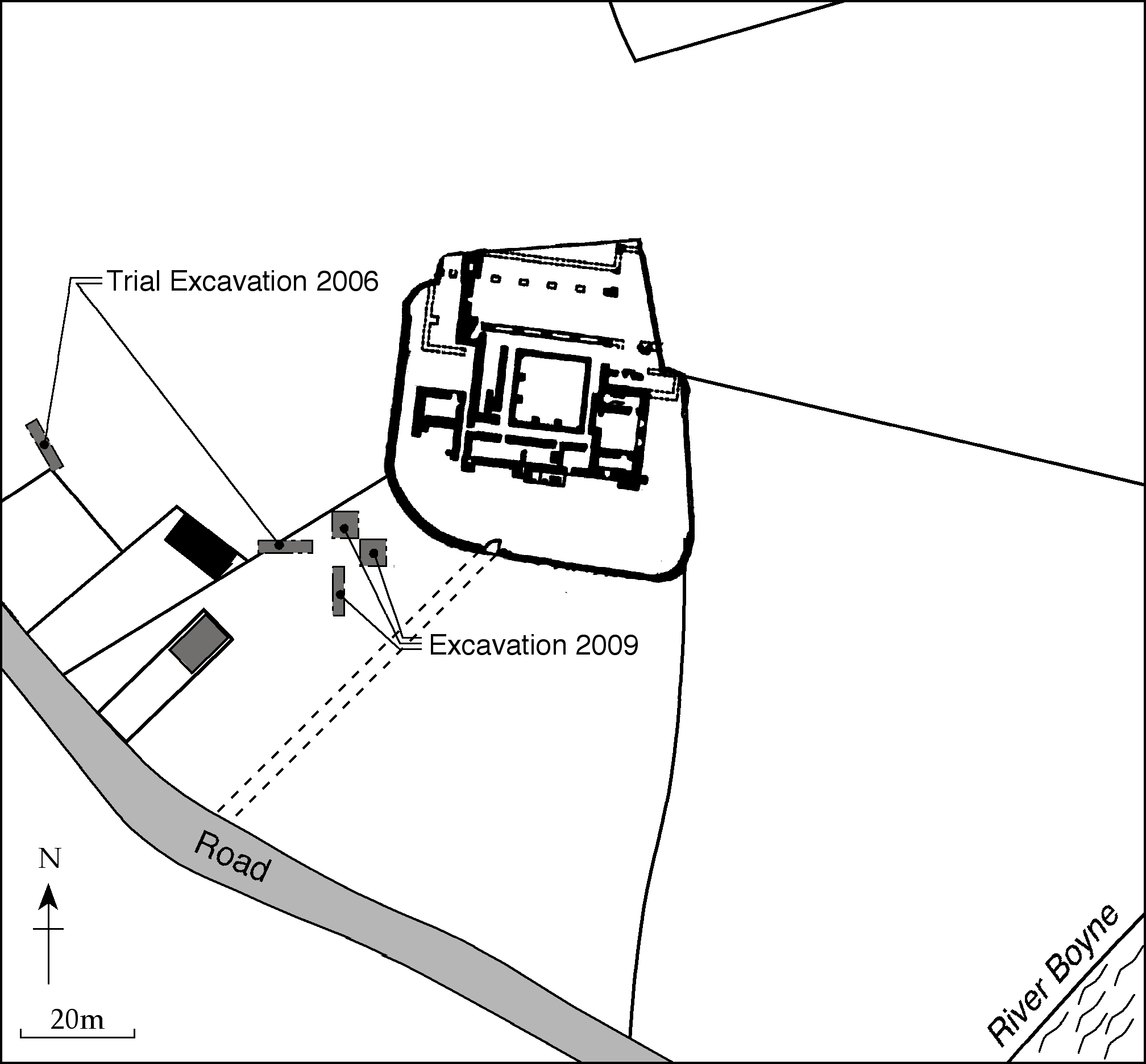 Leach Field Diagram