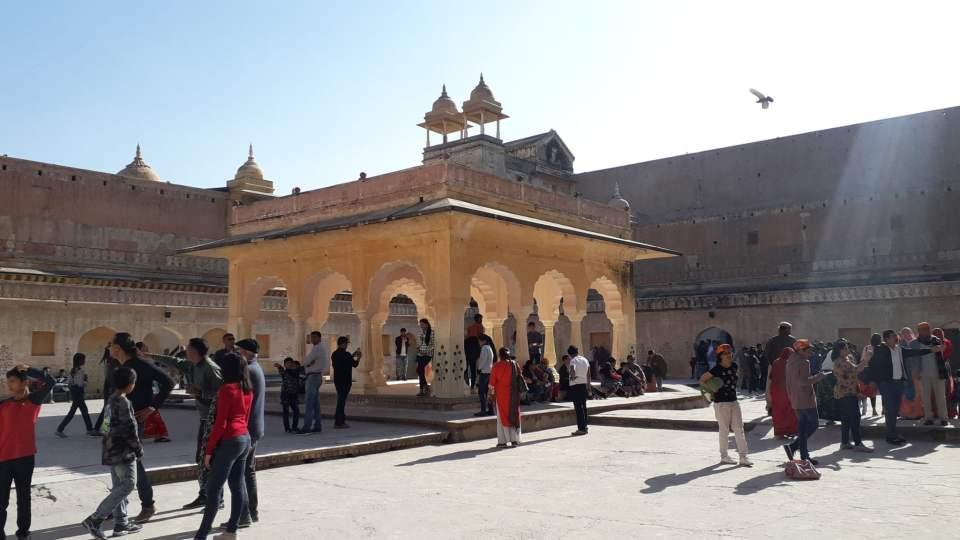 Palace of Man Singh - Amer fort, Jaipur