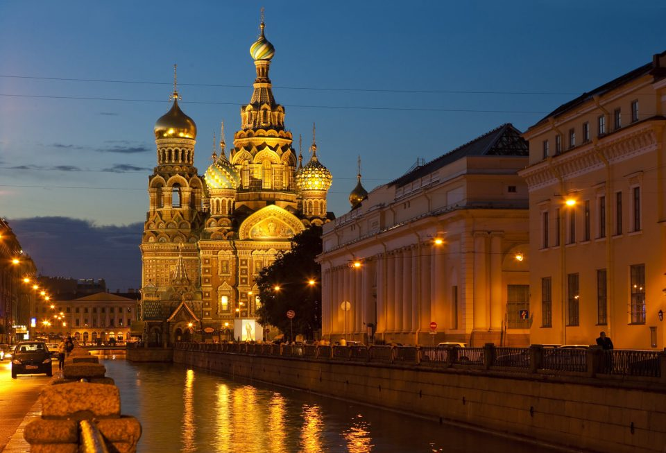 St- Petersburg cathedral in Russia (Top 10 countries in the world)