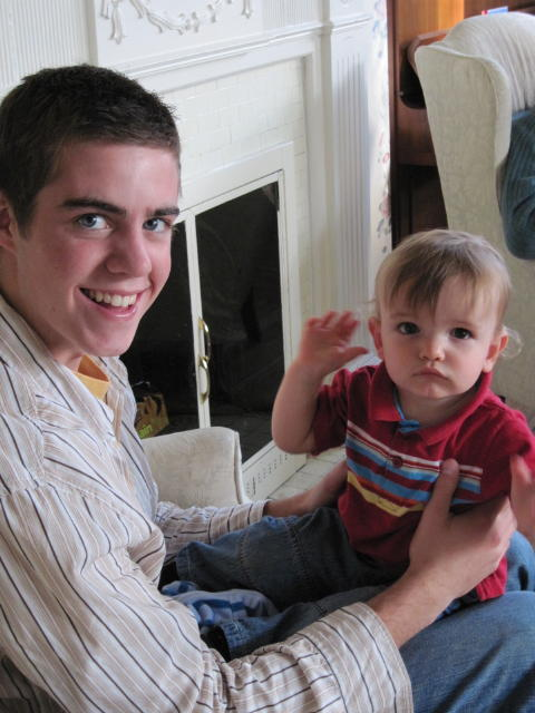 Phinn with his Uncle Ryan