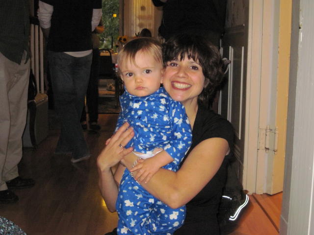 """Phinn with his """"Great"""" Auntie Anne"""
