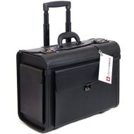 "41smFXY7QbL - Alpine Swiss Rolling 17"" Laptop Briefcase on Wheels Attache Lawyers Case Legal Size"