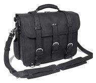 51JmJgZYf L - Polare Men's Top Quality Full Grain Leather Briefcase / Shoulder Bag / Messenger Bag / Satchel Fit 17'' Laptop