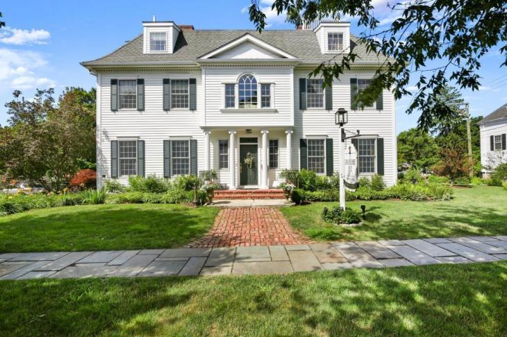 dana holcombe house newtown ct - Dana Holcombe House - Newtown, CT
