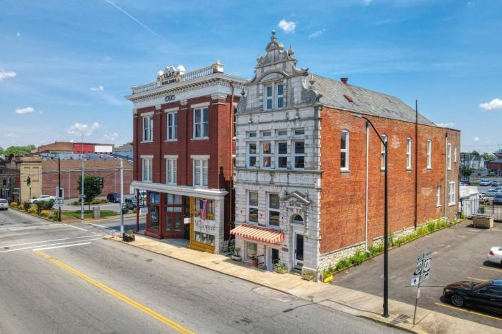historic cumberland telephone telegraph building hopkinsville ky - Historic Cumberland Telephone & Telegraph Building - Hopkinsville, KY