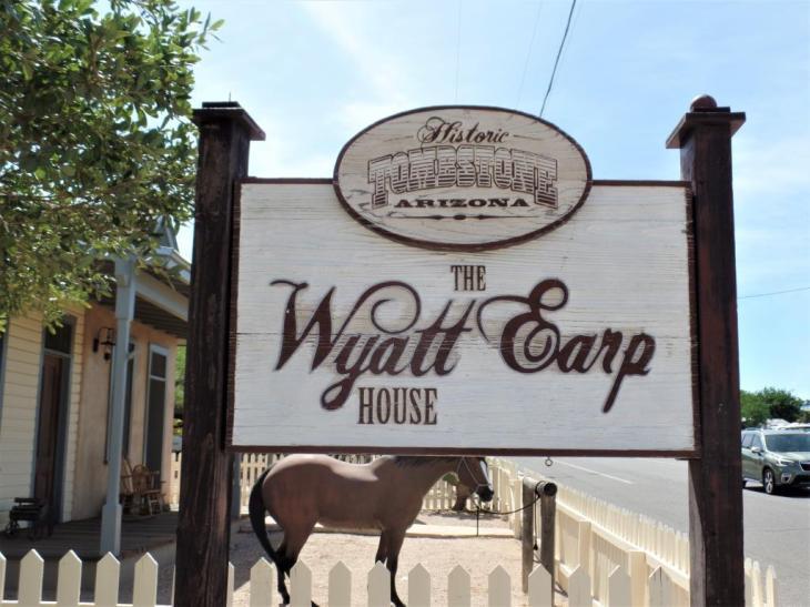 the wyatt earp house tombstone az - The Wyatt Earp House - Tombstone, AZ