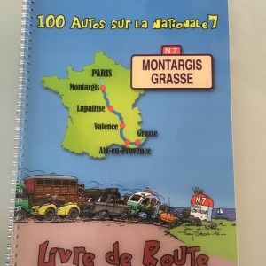 Livre de route (Roadbook) Nationale 7