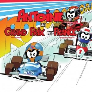 Antoine le pilote au grand prix de France