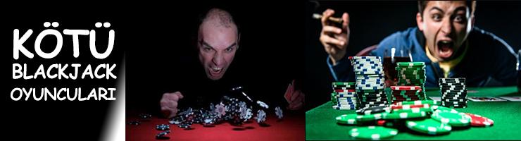 Blackjack Oyunculari