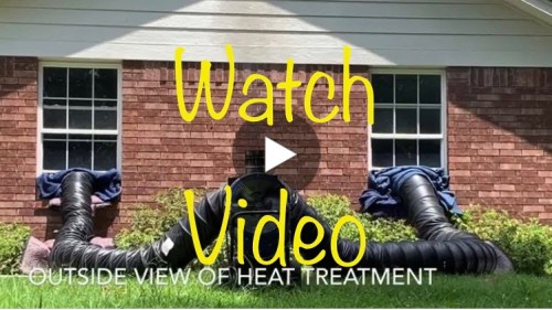 Link to Video: What A Bed Bug Heat Treatment Looks Like.