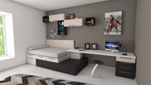 6 Ways to Design a Living Room and Bedroom Combo