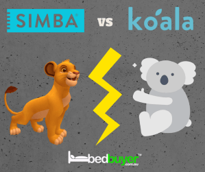 The Simba Hybrid Mattress vs. The Koala Mattress