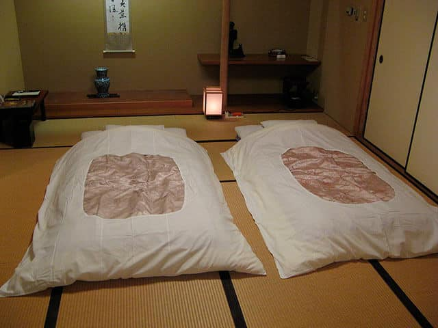 Do the Japanese Sleep in Beds - 2 Futons
