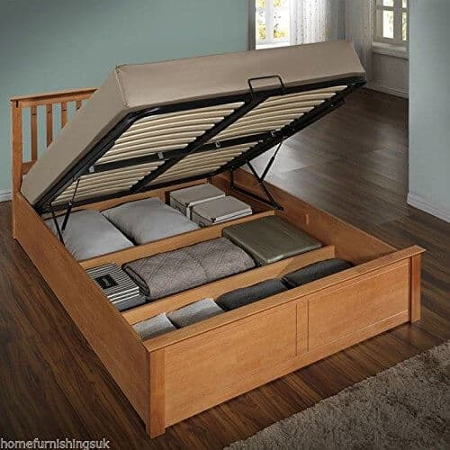 ottoman bed wooden frame