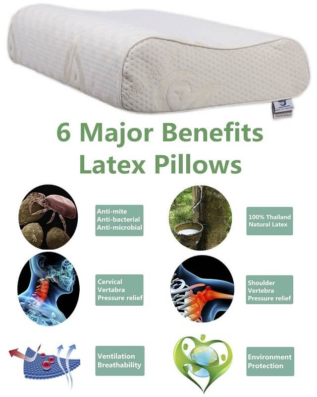 Benefits of Sleeping on a Latex Pillow