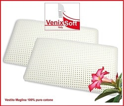 Venixsoft Breathable Latex Pillows