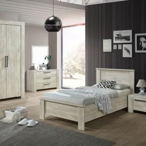 Complete slaapkamer IVAN I strandeik