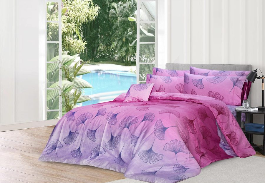6 Pcs Printed Sateen Quilt Cover - Corter