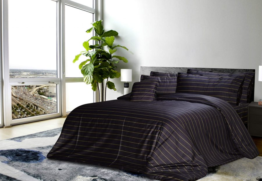 6 Pcs Printed Sateen Quilt Cover - Crobe