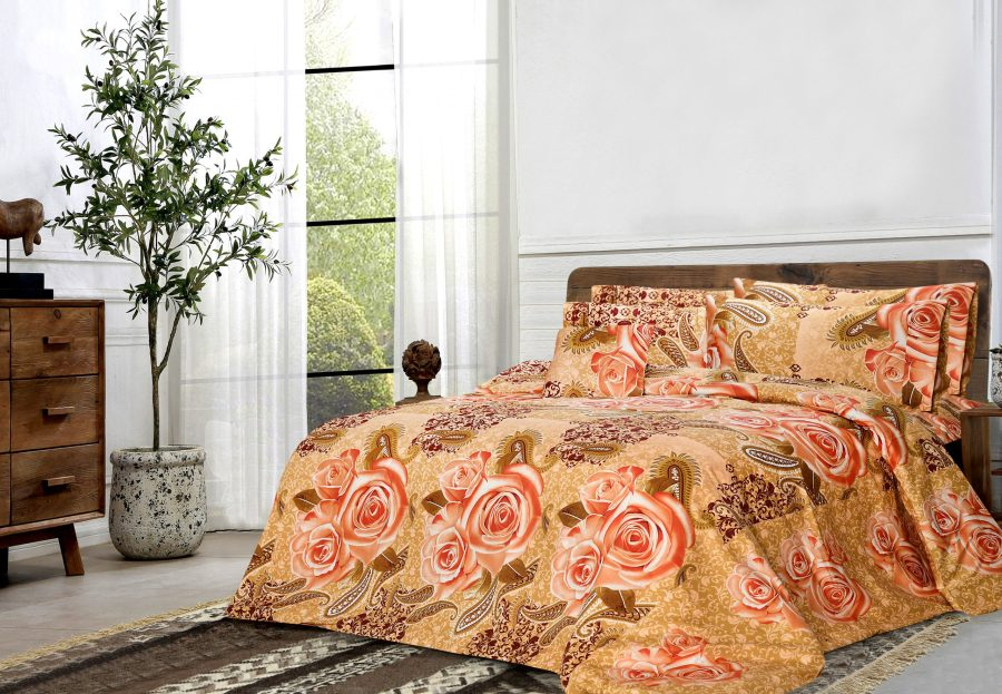 6 Pcs Printed Sateen Quilt Cover - Girfo