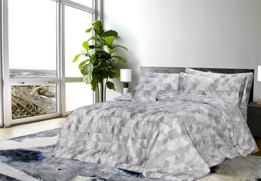 6 Pcs Printed Sateen Quilt Cover - Isalon