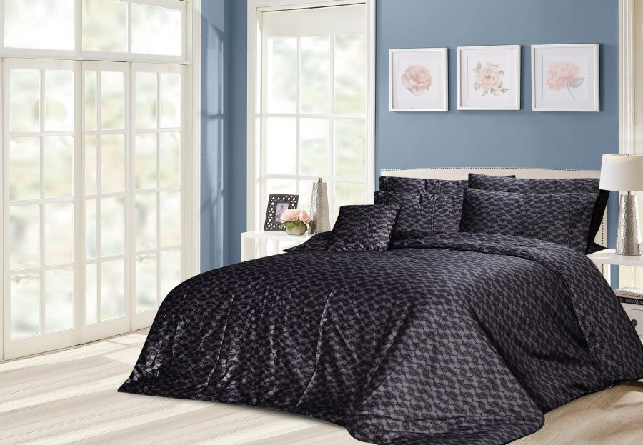 6 Pcs Printed Sateen Quilt Cover - Laxen