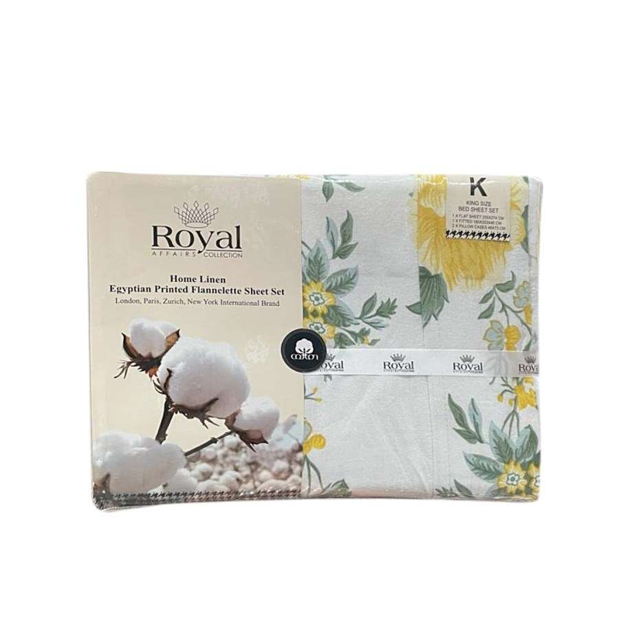 100% Pure Cotton Cozy Winter Flannelette Sheet Sets Design-Zonera~FREE POSTAGE~