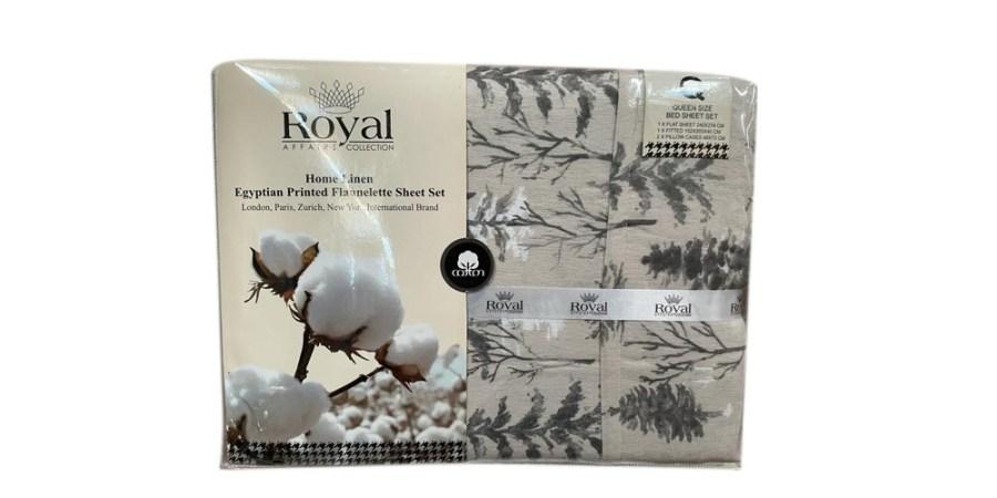 100% Pure Cotton Cozy Winter Flannelette Sheet Sets Design- Eenna~FREE POSTAGE~