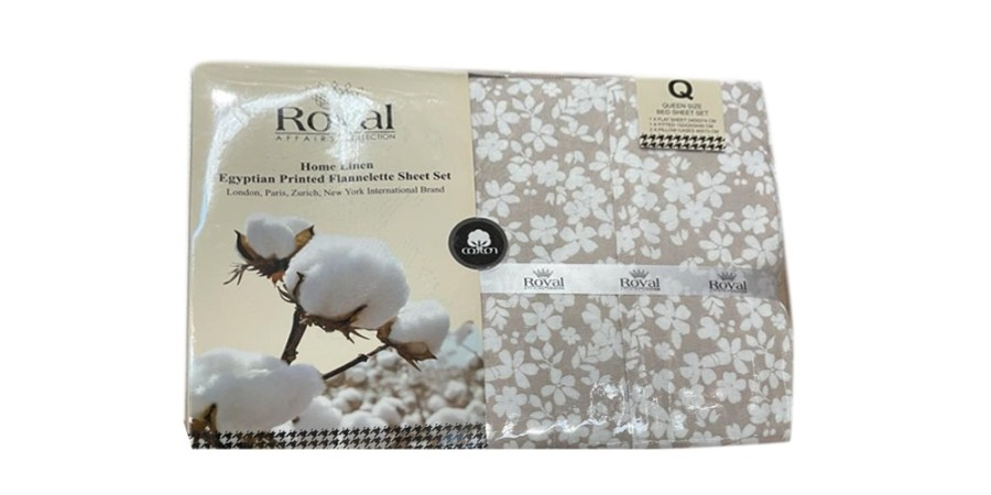 100% Pure Cotton Cozy Winter Flannelette Sheet Sets Design- Gardlen~FREE POSTAGE~